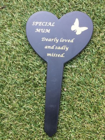 Graveside Memorial Butterfly Stake SPECIAL MUM DF17917E